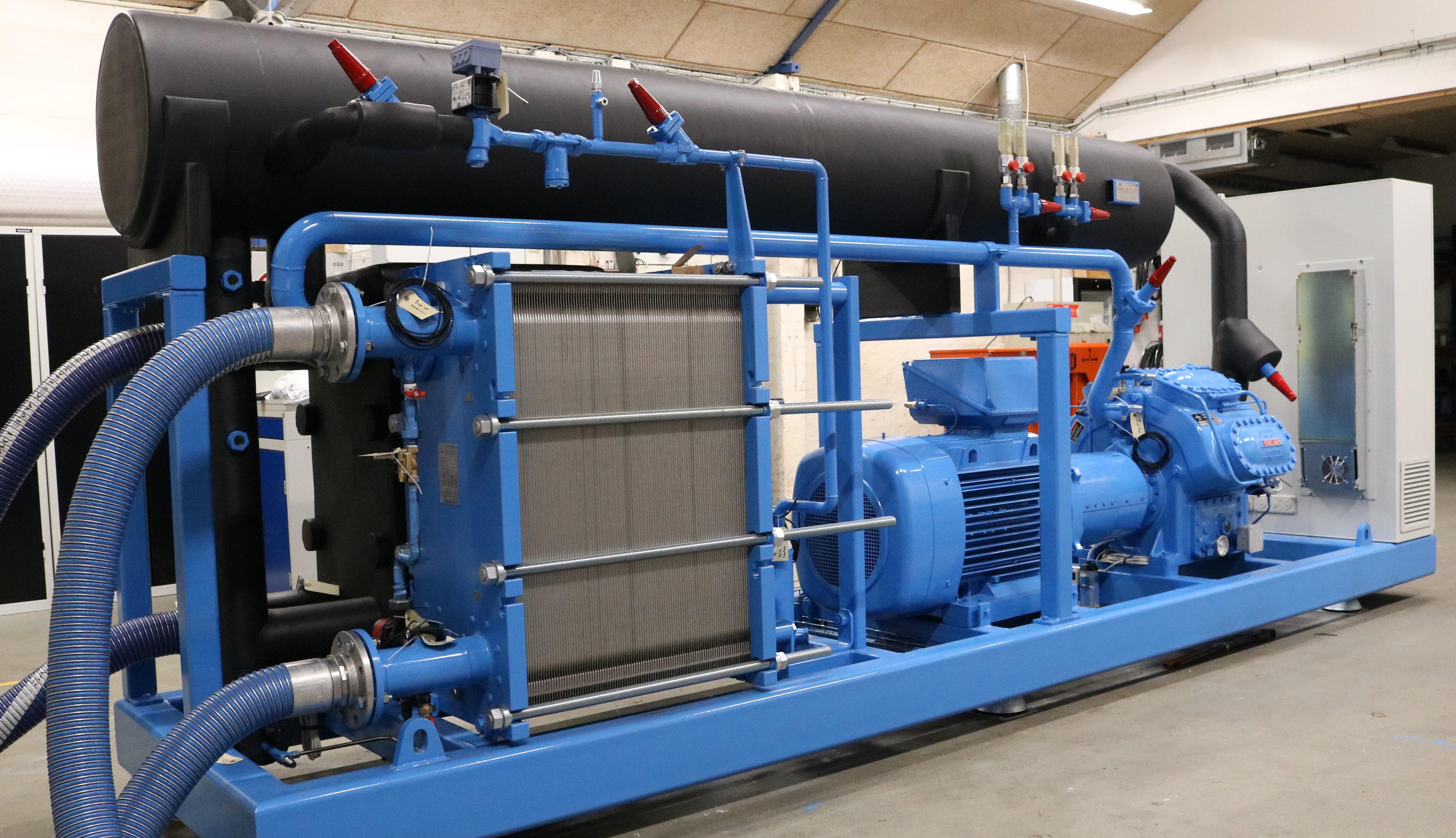 Enfriadora agua agua de amoníaco con evaporador negro por mantenimiento y reparación
