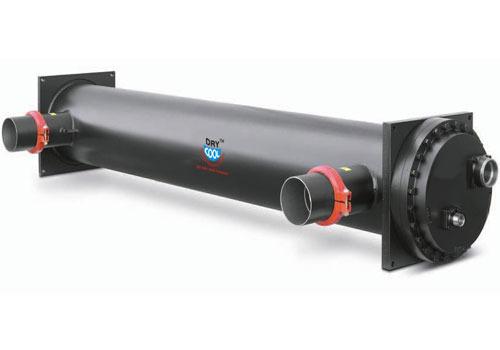 Negro evaporador de carcasa y tubo